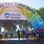 Kelowna's Interior Savings Across the Lake Swim